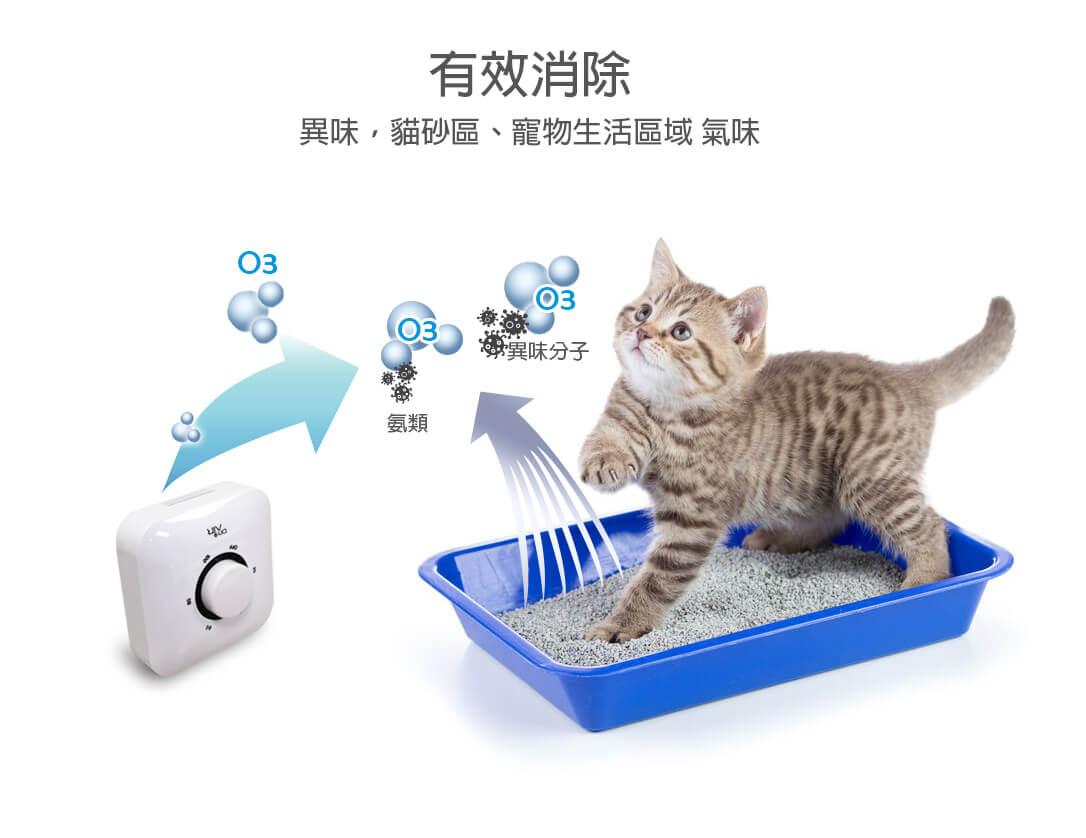 貓尿味道處理,交給空氣醫生小坪數空氣清淨機